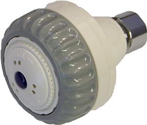Aviditi 23002 Shower Head Massager, White and Gray