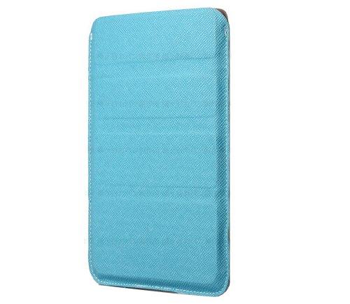 7~8インチ タブレットPC用 薄型軽量 タブレット スリーブケース 幡ヶ谷カバン製作所 スカイブルー