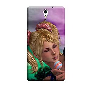 TransMute Premium Printed Back Case Cover With Full protection For Sony Xperia C5 (Designer Case)