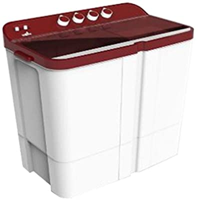 Videocon WM VS75Z13-DMA Zaara Grande Semi-automatic Top-loading Washing Machine (7.5 Kg, Dark Maroon)