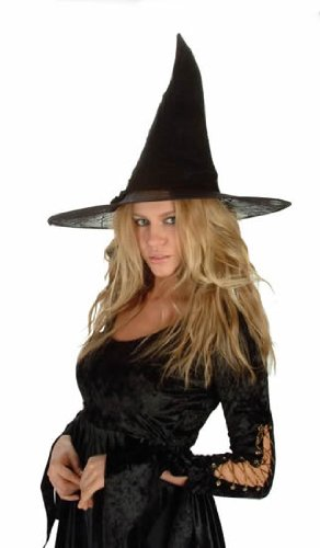 Child's Spider Witch Hat Costume Accessory