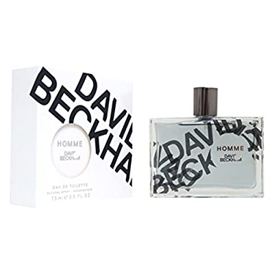 David Beckham Homme Eau de Toilette Spray for Men, 2.5 Ounce