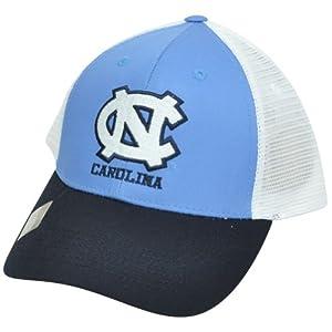 Buy NCAA Mesh Twill Snapback Two Tone Adjustable Hat Cap North Carolina Tar Heels NC by Captivating Headgear
