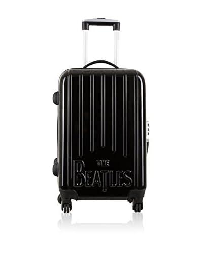LES BEATLES by Platinium Trolley Rigido Basic   70  cm [Blu]