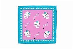 Riqueza Unisex Handkerchief (Pack Of 1) (RCKH 08_Pink_Free Size)