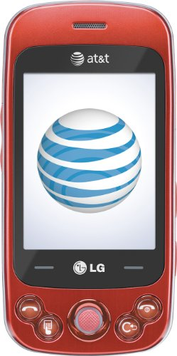 LG Neon II  Phone, Red (AT&T)