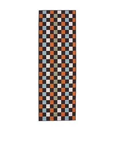 Tapis a Porter Alfombra Opal Chocolate/Tierra 80 x 240 cm