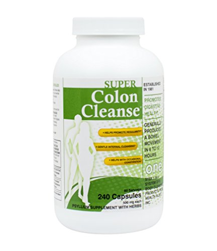 Super Colon Cleanse, 500mg, 240 capsules (Nature Renew Cleanse compare prices)