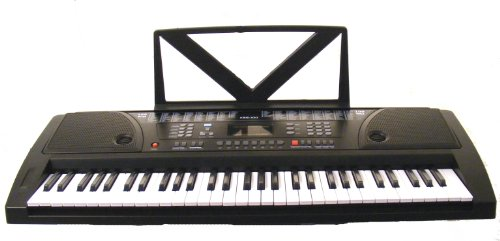 Review Of 61 Keys Black Keyboard Full Size Student Electronic Digital Piano with Notes Holder & AC A...