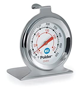 Polder Oven Thermometer, Stainless Steel by Polder