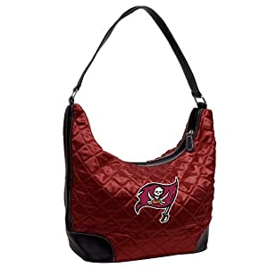 NFL Tampa Bay Buccaneers Team Color Quilted Hobo by Little Earth