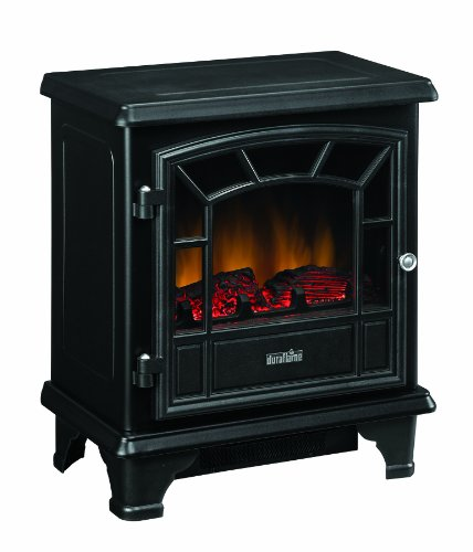 Duraflame Stove Heater, Black, DFS-550-0