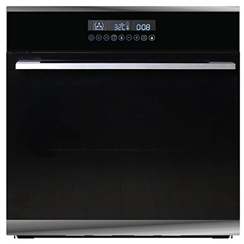 SIA R16 60cm 76L Built In 10 Function Touch Control Single Fan Electric Oven