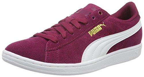 puma-womens-puma-vikky-sfoam-low-top-sneakers-red-size-6