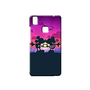 G-STAR Designer Printed Back case cover for VIVO V3 - G4525