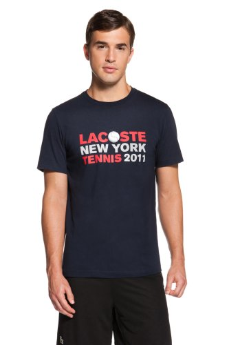 NY Tennis Lacoste and Tennis Ball T-Shirt