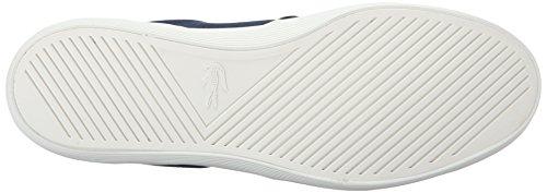 Lacoste Men's Jouer Slip-On 316 1 Cam Fashion Sneaker, Navy, 10 M US