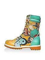 Dogo Botas de cordones (Multicolor)