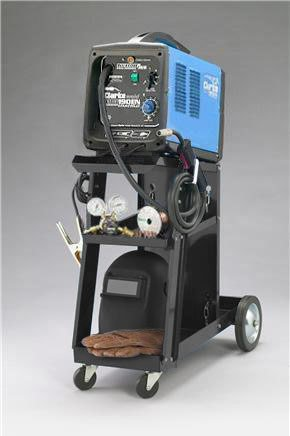 Clarke 190EN Mig/Fluxcore Gas/No Gas 220V Welder KIT
