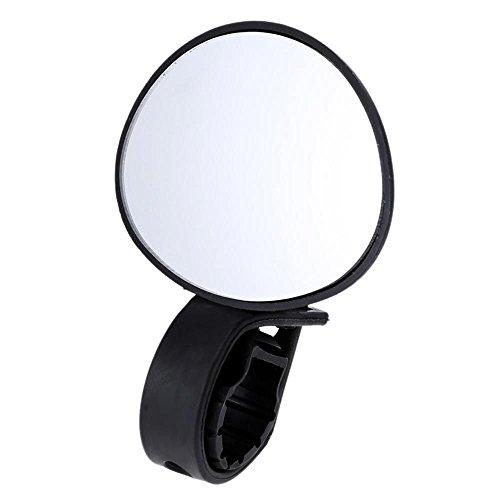 WEKA Adjustable 360 Degree Rotatable Handlebar Rear View Mirror Cycling Bicycle Bike(Black)