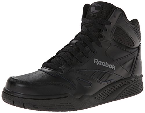 Reebok Men's Royal Bb4500 Hi Fashion Sneaker, Black/Shark, 10 M US