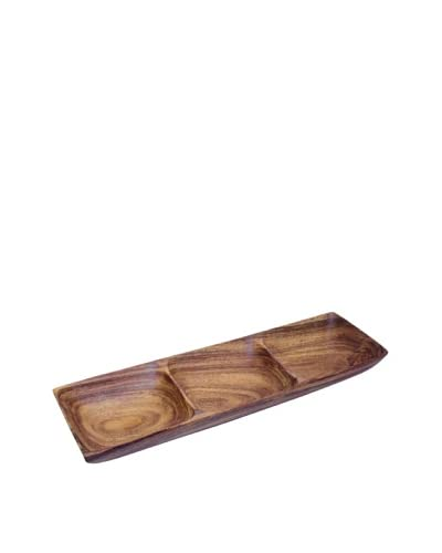 Pacific Merchants 3 Section Rectangle Tray
