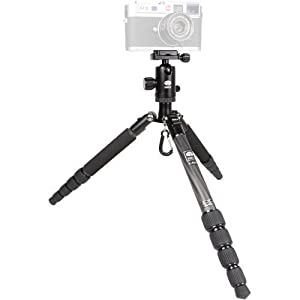 "Sirui T-025X 52"" Carbon Fiber Tripod with C-10X Ball Head & Case (Black)"