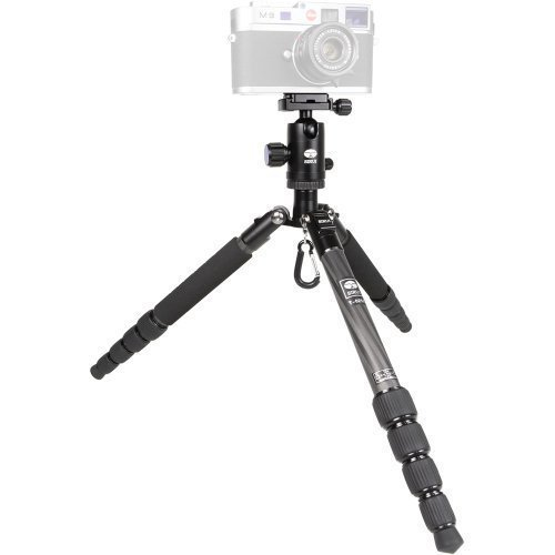 Sirui-T-025X-52-Carbon-Fiber-Tripod-with-C-10X-Ball-Head-Case-Black