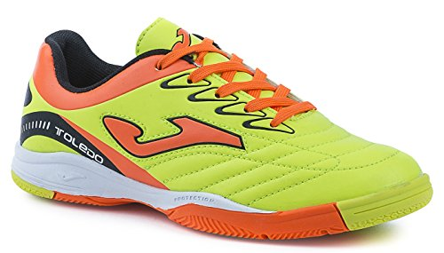 SCARPE CALCETTO INDOOR JOMA TOLEDO 611 JUNIOR CALCIO A 5 FUTSAL SALA (37)