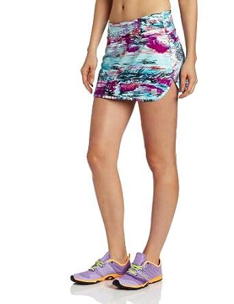 Skirt Sports Women's Race Belt Skirt, Oasis Print, X-Small