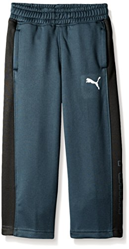 PUMA Little Boys' Tech Fleece Pant, Charcoal, 6