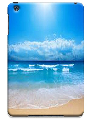 Fantastic Faye Cell Phone Cases For Ipad Mini No.19 The Fashion Design With Warm Sunshine Beach Blue Sky Clean Water Sea Star Beautiful Shell Slipper
