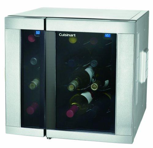 Cuisinart CWC-1500 15-Bottle Dual-Zone Electric Wine Cellar