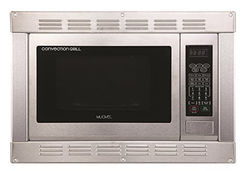 1.0 Cubic Foot, 120v Cul Stainless Steel Microwave Convection Oven and Grill with Built-in Trim Kit (Small Built In Convection Oven compare prices)