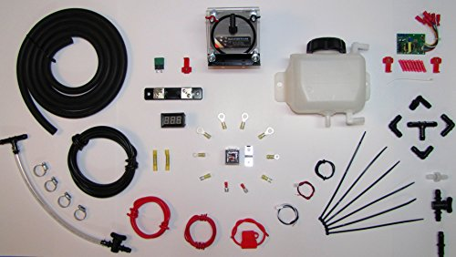 HHO DRY CELL KIT HYDROGEN GENERATOR FUEL ECONOMY MPG EFIE MAP MAF ELECTRONICS GAS (Hydrogen Car Kit compare prices)