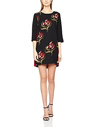 RINASCIMENTO Vestido (Negro / Rojo)