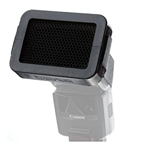 HonlPhoto 1/8 Inch Honeycomb Speed Grid for Shoe Mount Portable Flashes