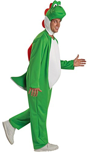 Adult Video Game Plumber Bros Dino Costume