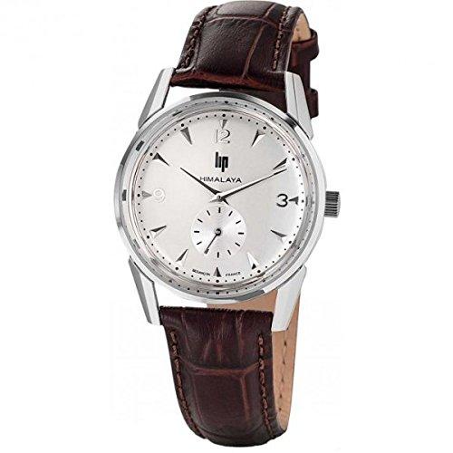 lip-himalaya-1954-silver-671041-mixte-quartz-analogique-bracelet-cuir-marron