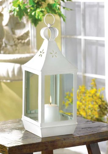 10 LRG CANDLE LANTERN CANDLEHOLDERS WEDDING CENTERPIECES