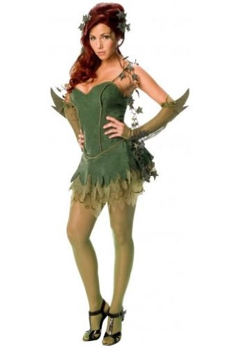 Women's Sexy Poison Ivy Costume at Gotham City Store