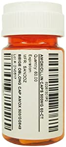 Amoxicillin Caps - 500 mg - 60 count