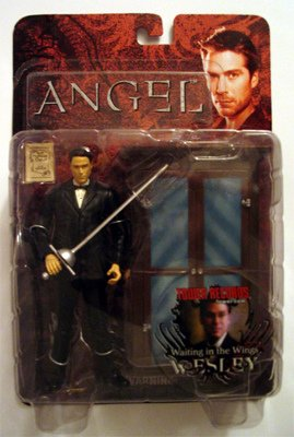 Picture of Diamond Angel - Buffy the Vampire Slayer Action Figure - Waiting in the Wings Wesley Alexis Denisof (B000LWL72C) (Diamond Action Figures)