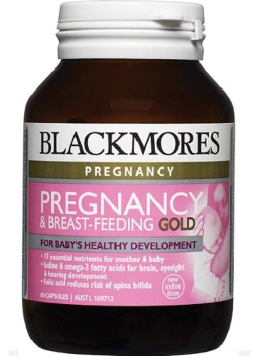 Blackmores Pregnancy & Breast-Feeding Gold Formula Capx60 *New*