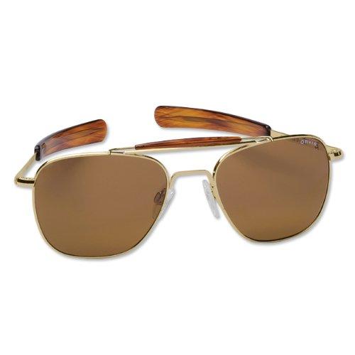 Orvis Men's Randolph Aviator Ii Sunglasses, Gold
