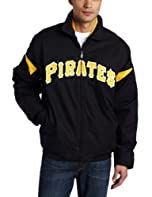 MLB Pittsburgh Pirates Long Sleeve Lightweight Full Zip Thermabase Premier Jacket,... by Majestic
