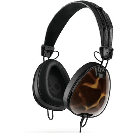 Skullcandy Aviator With Mic3 Lifestyle Wired Headphone - Tortoise/Black