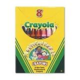 Crayola Multicultural Crayons (Pack of 8 Crayons) (Color: Assorted Skin Tone Colors, Tamaño: Regular)