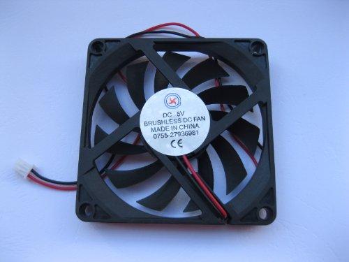 1 Pcs Dc Fan 5V 8010 2 Pin 80X80X10Mm Brushless Dc Cooling Blade Fan