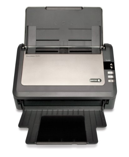Purchase Xerox XDM31255M-WU DocuMate 3125 Color Sheetfed Scanner for Documents and Plastic Cards con...